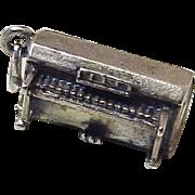 Organ Charm Three-Dimensional Sterling Silver by Danecraft circa 1960's