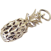 Pineapple Vintage Charm Three-Dimensional 14K Gold