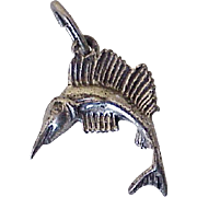 Sailfish Vintage Charm Three-Dimensional Sterling Silver by Beau