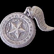 Vintage Texas Charm Sterling Silver Circa 1960's