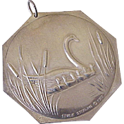 Seven Swans / Twelve Days of Christmas by Towle Sterling Silver Ornament/Medallion