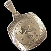 Vintage VIRGO Zodiac Charm 10k Gold