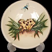 Moorcroft Pottery Froggies Fly Pattern Pin Dish, 2009