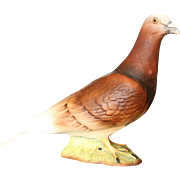 Beswick Red PIGEON Matt Finish, 2nd Series, Vibrant Coloured, No: 1383