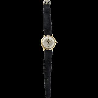 Vintage Jules Jurgensen 14 Karat Automatic Wrist Watch