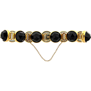 Beautiful Victorian Mourning Bracelet