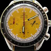 Omega Speedmaster Michael Schumacher Steel Yellow Chronograph 39mm Watch