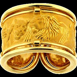 """Carrera y Carrera Ring """"Rhonda Fieras Safari"""" Collection"""