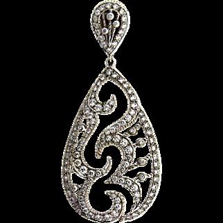 Doris Pano Designer 18 kt Diamond Pendant