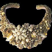 Stunning Collage Bridal Collar Artisan Necklace