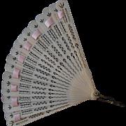 ****An antique  celluloid Fan for your BéBé****