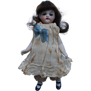 ***Antique all bisque mignonette doll*** 4,2 inches. - Red Tag Sale Item