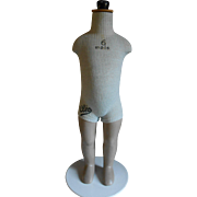 **Original  FRENCH CHILD,s MANNEQUIN*** approx 1950