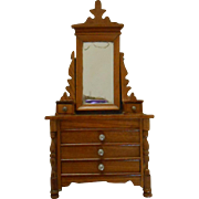 antique miniature dressing table Schneegas, around 1900.