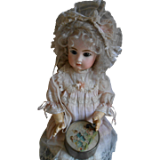 ***An Lovely Antique FRENCH music box***approx 1900, so beautiful to decorate !!!!