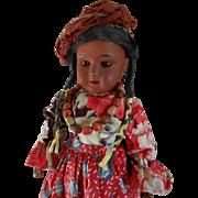 ***Sweet MULATTO doll, Marked TREBOR 22 made in Germany*****
