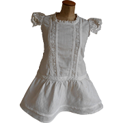 ***Gorgeous antique white cotton dress*****