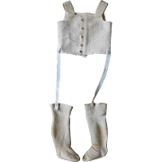 **Authentic, wonderful dolls corset with stockings !***