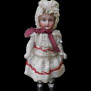 **sweet German mignonette doll, all original*****