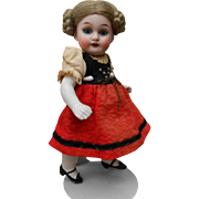 **Cute 6,8 inches all bisque doll, A.M 1894 excellent condition**