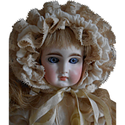 ***Lovely Sonneberg/Belton type doll, mold 116, cabinet size !  12 inches.