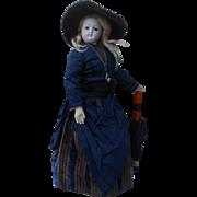 **Amazing French elegant Fashion Lady doll ***original clothes..16,8 inches.