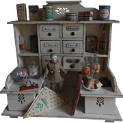 **Lovely small Grocery shop***art deco,  approx 1920,  including salesman !
