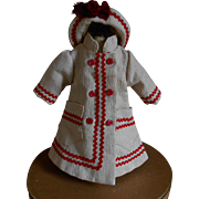 **Lovely small jacket and hat, suitable for a doll around 16 inches.***