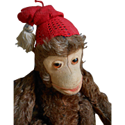 ***A funny STEIFF monkey****approx 1950