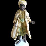 **Outstanding Ethnic  black Neapalitan Creche figure**excellent condition.
