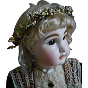 **A beautiful French wax wedding crown for your BEBE***