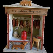 **Wonderful small size antique Butcher Shop**