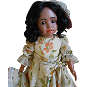 **Outstanding Mulatto doll..Simon and Halbig 1358***23,2 inches.