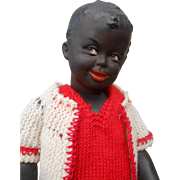 ***A very rare smiling mulatto doll, made by Gebr.Heubach, mold 7668