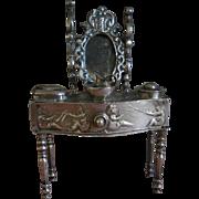 **A Dutch silver, rare miniature dressing table approx 1901***