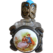 **A beautiful French perfume bottle for your Fashion lady doll or Bébé***