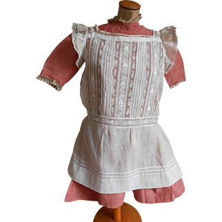***Lovely authentic dress with an apron***