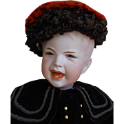 **Very Rare French Bisque crying character doll SFBJ 233.....