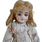 Lovely blonde mohair wig for your small doll.