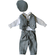 ** Funny outfit !  3 piece waistcoat outfit for your doll**