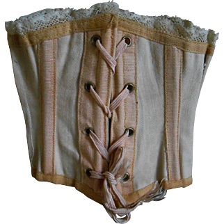 An antique luxury French  CORSET, Original !