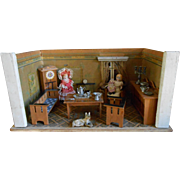 """**Lovely small """"Amsterdam School """"dollhouse..all complete..."""