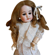 **Lovely rare French doll made by Joseph Jules Jeanson**16,8 inches