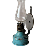 Petroleum Wall Lamp 1880-1900
