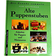 GERMAN collector guide translated in English for old doll houses and miniatures