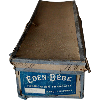 Late 1890's Doll Box With The EDEN BEBE Label