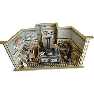 Antique Moritz Gottschalk kitchen - the earliest from 1892