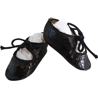 French Alart Doll Shoes