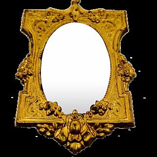 Magnificent antique ormolu mirror - Erhard & Söhne