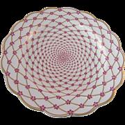 """10.5"""" Vintage C.H Field for Haviland Limoges Violet Plate"""